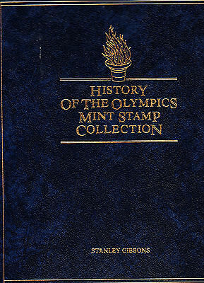 1983 Stanley Gibbons History of the Olympics Mint Stamp Collection 47 Stamps MNH