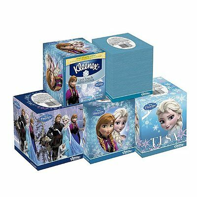 Kleenex Cool Touch Facial Tissues, cooling moisturizers 50 ct, (Pack of 27) New