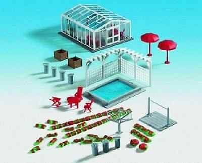 HO Scale Swimming Pools w/Accssrs