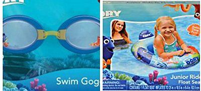 Inflatable Finding Dory Kiddie Pool Splash Goggles