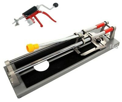 "Heavy Duty 460Mm 18"" 3 In 1 Tile Cutter Cutting Machine Hole Straight Angled Cut"