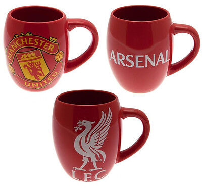 Liverpool / Arsenal / Manchester United Ceramic Barrel Shaped Mug New & Official