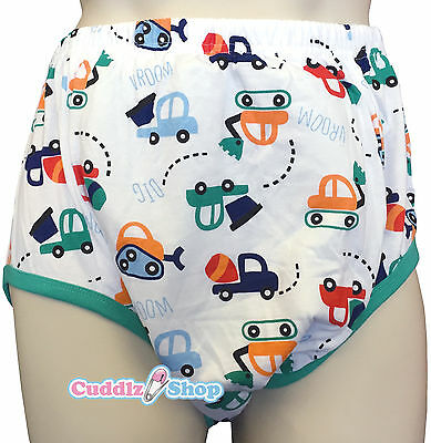 Cuddlz Adult Toy Digger Design Padded Pull Up Cotton Pants ABDL