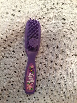 "Amazing Ally 18"" Interactive Electronic Doll Purple Hair Brush Comb Accessories"