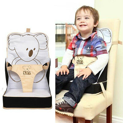 Pipsy Koala Booster Seat Travel Portable Baby Child Toddler Safety Dining