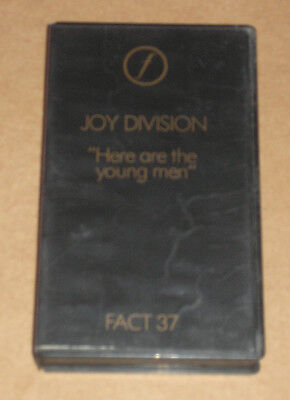 Joy Division - Here Are The Young Men - Videocassetta Vhs