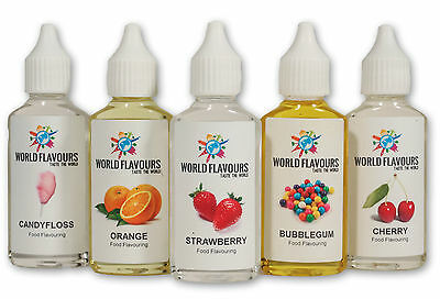 Buy 3 Get 1 Free! Highly Concentrated Liquid Food Flavouring Sweets Drinks Cakes