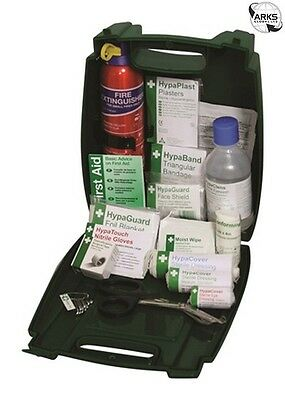 SAFETY FIRST AID Travel First Aid Kit & Fire Extinguisher in Evolution Box - K30