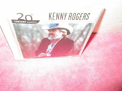 KENNY ROGERS - MILLENNIUM COLLECTION rare Country Music cd 10 songs