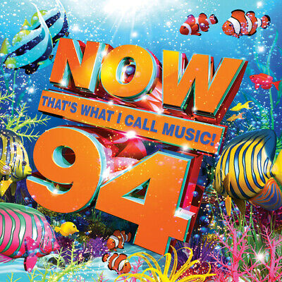 Various Artists : Now That's What I Call Music! 94 CD 2 discs (2016) Great Value