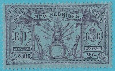 New Hebrides 48  Mint Hinged Og  No Faults  Extra Fine !