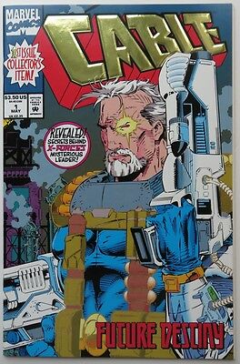 1993 Cable  #1  Gold Foil Cover  -  Nm                     (Inv11263)