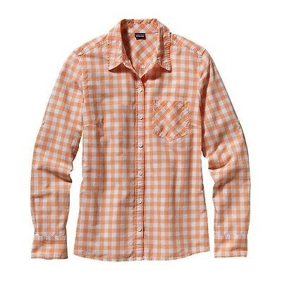 Patagonia Women's Brookgreen Casual Shirt - Rilay: Peach Sherbet CLEARANCE