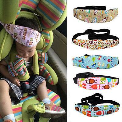 Safety Car Seat Sleep Nap Aid Baby Child Kid Head Support Holder Protect Belt UK