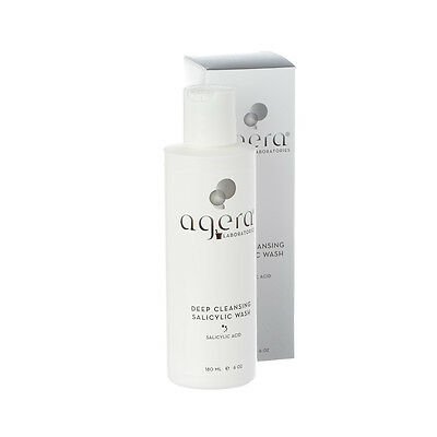 Agera Deep Cleansing Salicylic Wash 180ml Oily Skin Cleanser 100% GENUINE