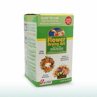 ACTIVA Silica Gel for Flower Drying 5 Pound {2610} is simple easy-to-use and fun