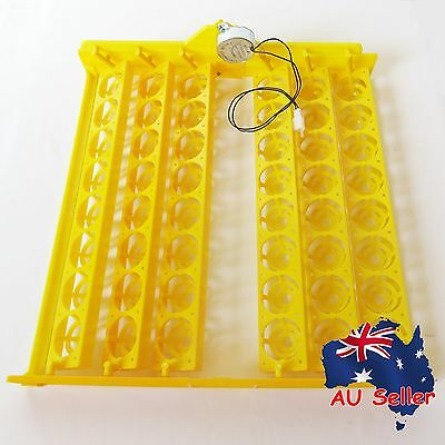 Automatic Egg Incubator Turning Tray 48 Chicken Poutry Eggs