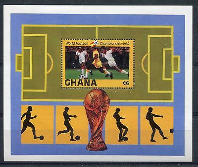 Ghana 1982 World Cup Football Championship MS MNH