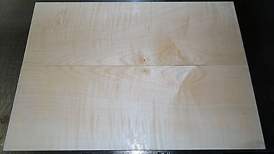 Drechselholz Riegelahorn 1886 Top 8mm Bookmatched Tonholz Topset GuitarBuilder