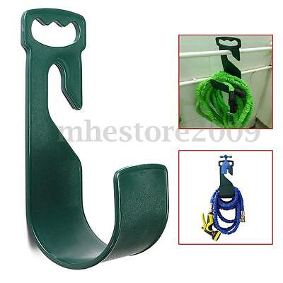 Garden Home Watering Hose Pipe Holder Hanger Hook Wall Mounted Pipe Organiser