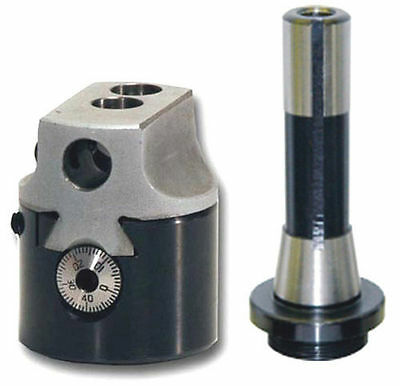 """Precision 2 """" Boring Head With R8 Shank For Bridgeport Milling Machine"""