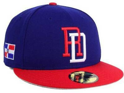 2017 WBC Dominican Republic World Baseball Classic New Era 59FIFTY Fitted Hat