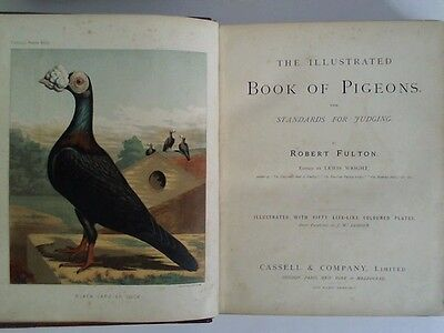 Fulton, Robert: The illustrated book of Pigeons. With Standards for Judging