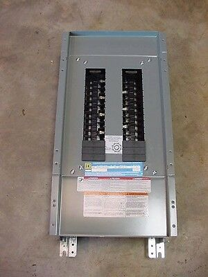 Square D Circuit Breaker Panel Interior 30 Space 3 Phase  208Y/120 QOB QO 100A