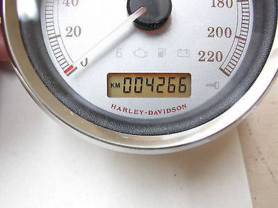 Harley Davidson Metric KMH Speedometer New out of box -  4,266  Kms 67281-08