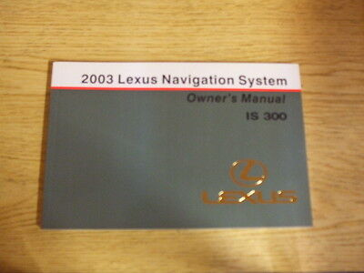 2003 lexus is300 navigation system owners manual manuals oem rh picclick com 1995 Lexus SC400 Used 2002 Lexus SC430