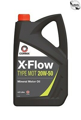 COMMA X-Flow Type MOT 20W-50 - 4.5 Litre - XFMOT1G