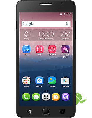 """Alcatel One Touch Pop Star 5022X White Factory Unlocked 5"""" 3G+ Quad Core"""