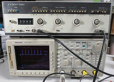 HP 214B High Output Pulse Generator 100V, 10 MHz with Burst opt. 001