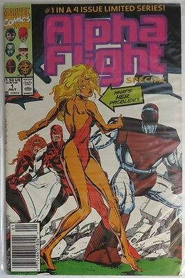 1991 Alpha Flight 4-Part Limited Series  -   Fvf             (Inv5684)