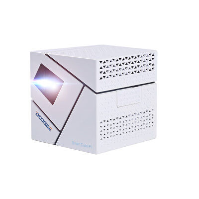 DOOGEE Cube P1 DLP LED Quad Core HD Proyector Android 8GB WIFI Projector Cinema