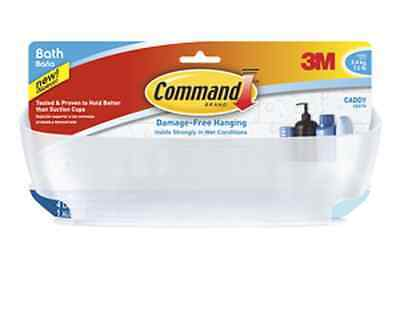 COMMAND BATH11ES  Self Adhesive Bathroom/Shower Caddy - Strong,Holds up to 3.4Kg