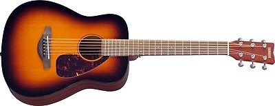 Yamaha JR2 TBS Folk Acoustic Guitar (Tobacco Sunburst, 3/4-Size Compact Guitar)