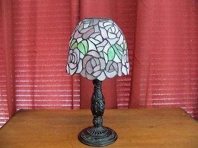 Tiffany Style Stained Glass Candle Tea Light PartyLite ?