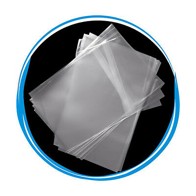 500 OPP Resealable Plastic Wrap Bags for Standard 14mm DVD Case Peal & Seal