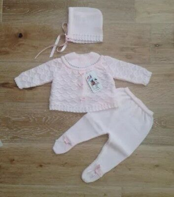 spanish knitted set for girls