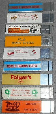 Set of 9 Advertising PACIFIC HANDY CUTTERS With Original Brochure
