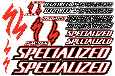 Specialized bicycle frame decals stickers graphic set vinyl aufkleber adesivi #1
