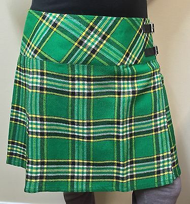 "Ladies Billie Irish Heritage Kilt/skirt 16""Length"