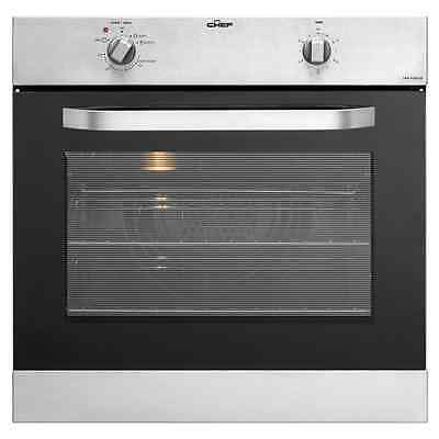 Chef EOC627S Electric fan forced single oven stainless steel