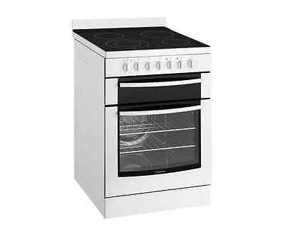 Westinghouse WFE647WA 60cm Electric oven with ceramic hob.