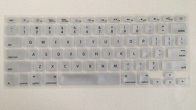 Silicone Gel Keyboard Protectors/Skins For Macbook Pro 11/13/15.   Silver