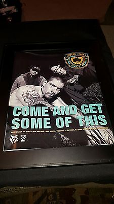 House Of Pain Jump Around Rare Original Promo Poster Ad Framed!