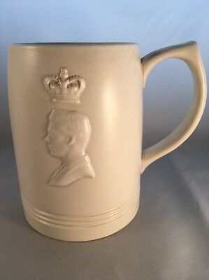 Wedgwood - Keith Murray 1937 Tankard Coronation King Edward VIII