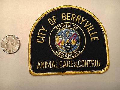 City Of Berryville Arkansas Animal Care And Control Patch Ak