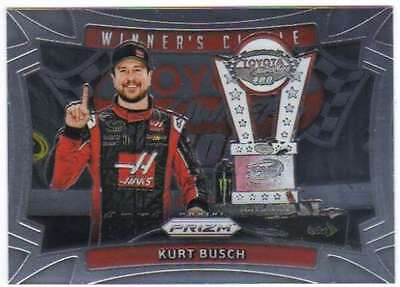 2016 Panini Prizm Racing Insert Winner's Circle #9 Kurt Busch